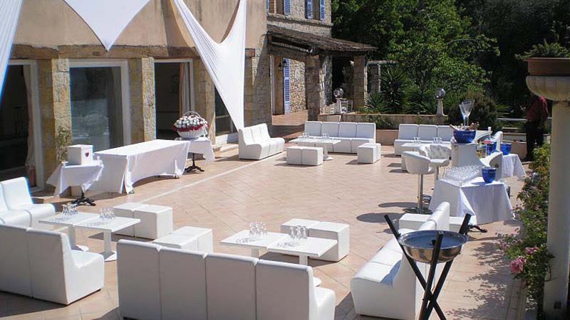Chef Riviera - Lieu de reception - Le paradis des oiseaux